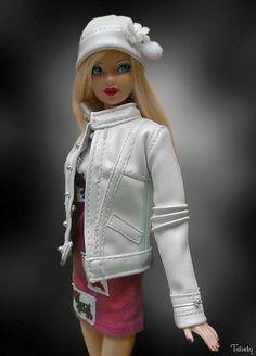 Birthstone Beauty Steffie Barbie by -Twisty-, via Flickr