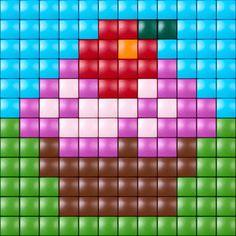 #pixelhobby #pixelen #pixel.gift #kids #toy #hobby #creatief #cupcake