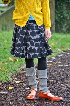 cats and dogs skirt