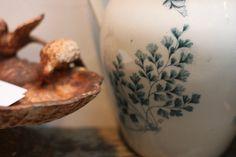 love this jug with a maidenhair fern  <3