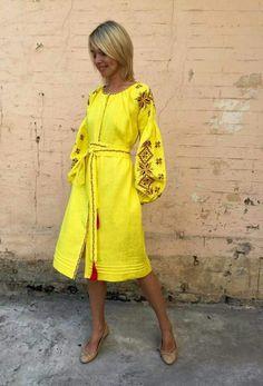 Ukrainian beautiful folk fashion