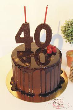 Tarta sacher a mi manera Sacher cake to my own www.tartasdelunallena.blogspot.com