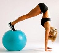 Core. Balance!  Gotta try this... hope I dont land on my face.