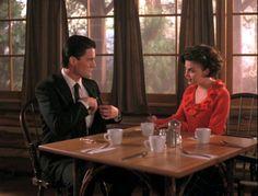 Kyle Maclachlan & Sherilyn FennDale Cooper & Audrey Horne - Twin Peaks