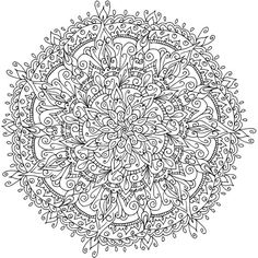 19f10d143f7f f8c8a6a9a4fcc mandala coloring adult coloring