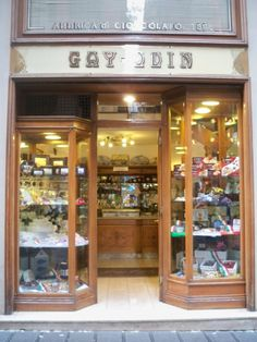 Gay-Odin, famous Napoli chocolatier specializing in heavenly, fresh and homemade chocolates.
