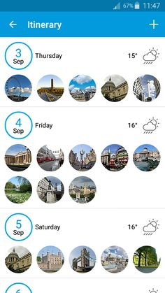What do you think about Tripomatic app in Material Design? Your day itinerary now shows you clearly how demanding your days will be. Create your perfect itinerary.  #Tripomatic #itinerary #travel Get your Tripomatic app for free in Google Play: https://play.google.com/store/apps/details?id=com.tripomatic&hl=en