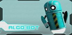 In Algo-Bot, you're an engineer controlling a little robot through code semantic in order to clean up toxic waste in a nuclear facility.