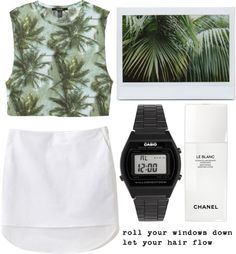 """""""Palms"""" by luxe-ocean ❤ liked on Polyvore"""