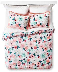 Xhilaration Multicolor Floral Printed Comforter Set - $23.99