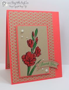 Gift of Love - Stamp With Amy K