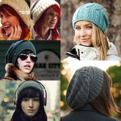 lindos modelos de toucas femininas para o inverno