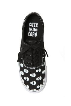 Skull Shoes | Hot Topic how about these Nicole ?