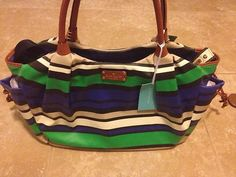 summer fun Diaper bag.. Love Kate Spade Diaperbags !