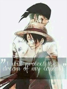 One Piece - Luffy and Zoro