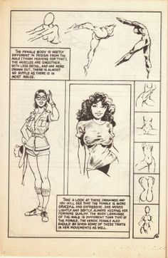 """Drawing Comics Temple of the Seven Golden Camels: """"How to Draw Comics Comic"""" issue Anatomy Sketches, Body Sketches, Anatomy Drawing, Anatomy Study, Comic Book Drawing, Comic Books Art, Comic Art, Realistic Drawings, Cartoon Drawings"""