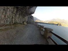 Downhill Sentiero del Ponale Giacomo Cis (Pregasina - Riva del Garda)