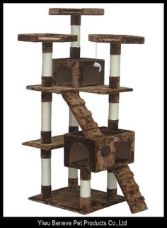 1000 Images About Cat Trees And Houses On Pinterest Cat
