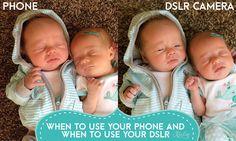 Phone vs. Camera