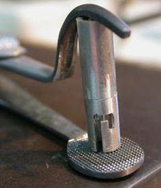 Making bayonet catch- special soldering tweezer