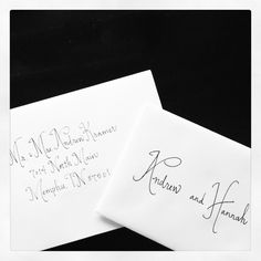 handwritten invitations for every occasion. $1.00, via Etsy.