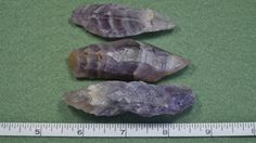 Three AURALITE-23 Crystals   99.7 gr  Meditation by MineralKingdom