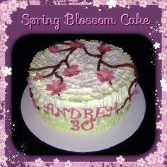 Spring Blossom Cake