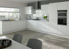 Trends Ringmer Silk White Kitchen Doors from £4.71 kitchen door workshop ltd