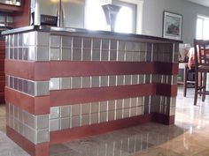 """4"""" x 4"""" Brushed Stainless Steel Tiles"""