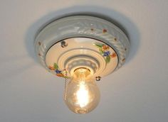 How To Replace A Pull Chain Light Fixture   Pull Chain Light Fixture, Lights  And Basements