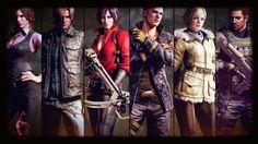 Resident evil 6 personajes