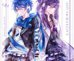 Kaito (L) Gakupo (R)  they are Vocaloids!