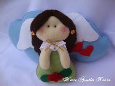 °°Finalistas do Concurso Anjinha de Natal... - Sonhos de Mel 'ੴ - Crafts em feltro e tecido