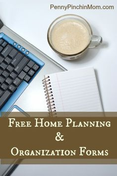 Free Home Planning and Organization Forms