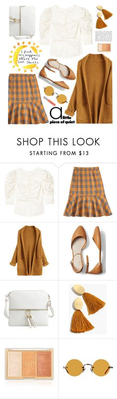 """🌞🌞"" by orrinn ❤ liked on Polyvore featuring Rebecca Taylor, Gap, Epic Chic, Madewell and Hakusan"