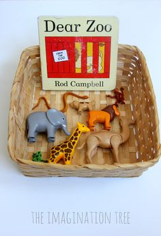 Dear Zoo Storytelling Basket (from The Imagination Tree)