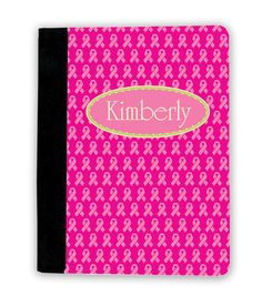 Breast Cancer Ribbon iPad Cover