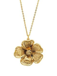 Ruby Kats Aster Necklace, Gold, One Size « Holiday Adds
