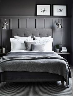 Inspirations Mens Bedroom Ideas - All Bedroom Design Wood Bedroom, Modern Bedroom, Bedroom Decor, Bedroom Ideas, Contemporary Bedroom, Bedroom Rustic, Bedroom Small, Grey Bedroom Design, Industrial Bedroom