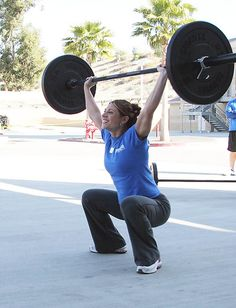 i wish my overhead squat looked like this