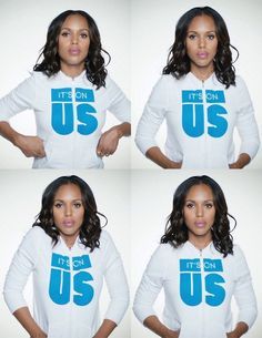Kerry Washington Takes part in the It's On Us: Sexual Assault PSA