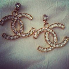 chanel earrings.