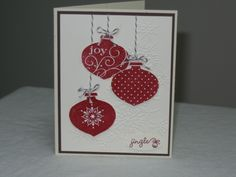 CAS141, CCC11 Oct., Ornaments by cjzim - Cards and Paper Crafts at Splitcoaststampers