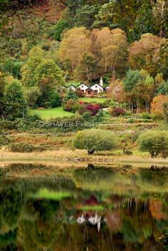 Glendalough, Ireland - where us 3 sisters went to scatter our dad's ashes