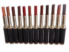 TLM+GCI+Bright+Moist+Lipstick+100%+Fashion+S214F+2.5g+X+12+pcs+Price+₹1,706.00