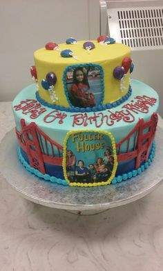 Fuller house party cake