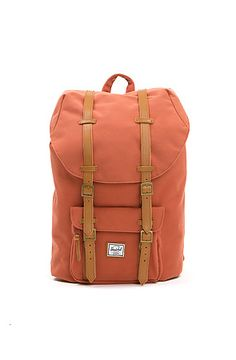 The Little America Backpack in Dusk Red by Herschel Supply