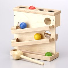 "drugyutaka | Rakuten Global Market: Wooden pound the ball TY-2424 ★ tenderness filled with wooden toys, Wooden Series.""-educational toys-wooden toys-Wood toys-8003 n 