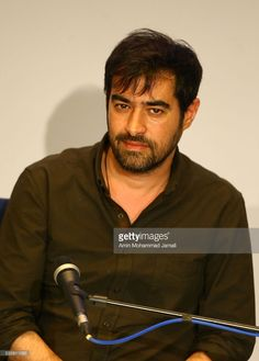 Actor Shahab Hosseini, winner of the award for best actor for the movie 'The Salesman' during 2016 Canne Film festival, attends the press Conference on May 30, 2016 in Tehran, Iran.