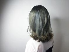 Ash Green Hair Color